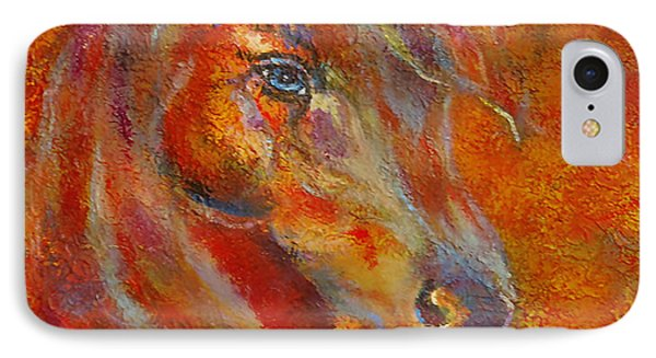 The Fire Of Passion Phone Case by The Art With A Heart By Charlotte Phillips