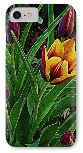 The First One Out Phone Case by Chris Berry