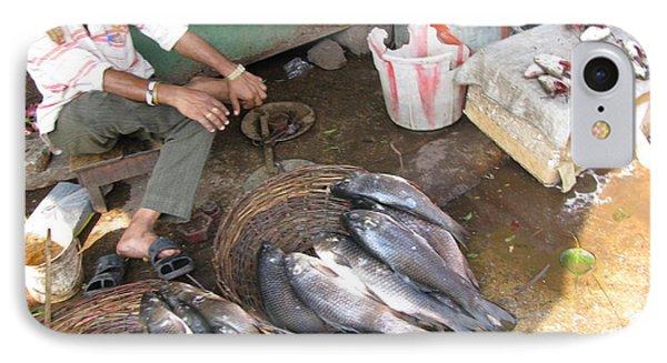 The Fish Seller Phone Case by David Pantuso