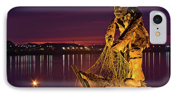 The Fisherman Phone Case by Greg Nyquist