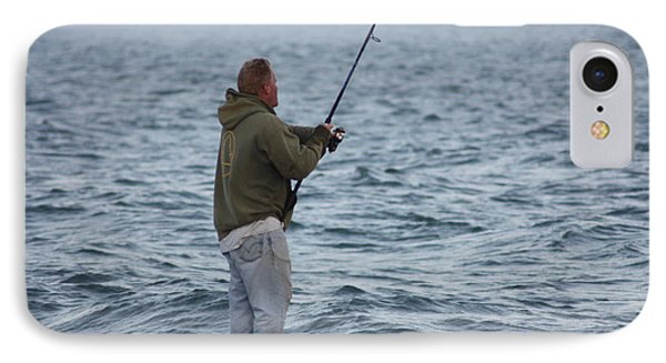 The Fisherman IPhone Case by Robin Regan
