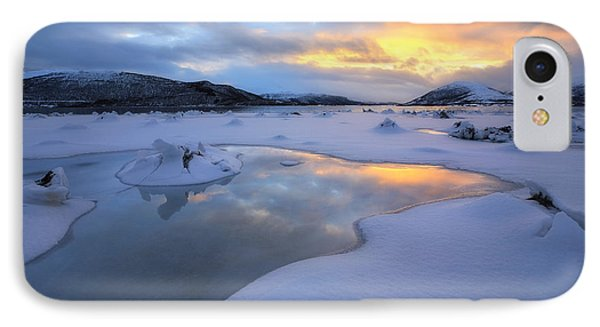The Fjord Of Tjeldsundet In Troms Phone Case by Arild Heitmann