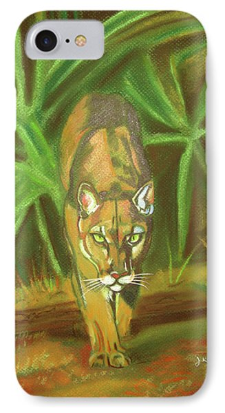 The Florida Panther  IPhone Case by John Keaton