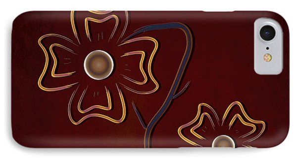 The Flowers  IPhone Case by Milena Ilieva