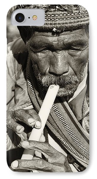 The Flute Phone Case by Skip Nall