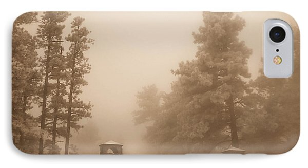 IPhone Case featuring the photograph The Fog by Shannon Harrington