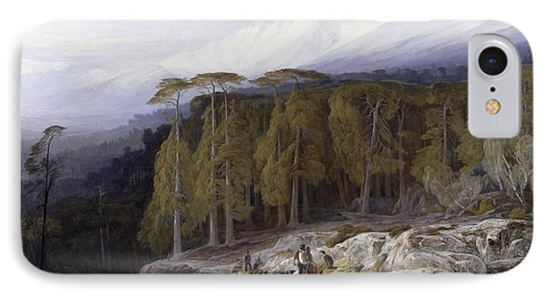 The Forest Of Valdoniello - Corsica Phone Case by Edward Lear