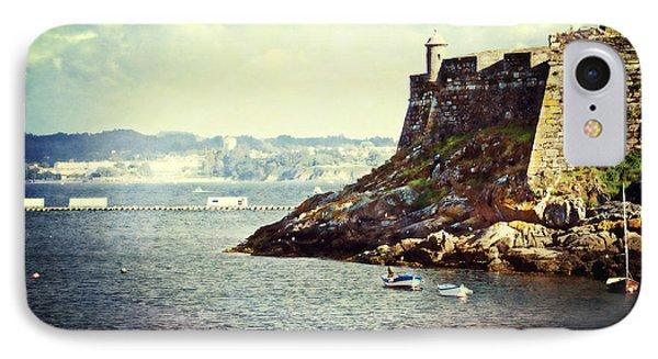 The Fort On The Harbor - La Coruna IPhone Case
