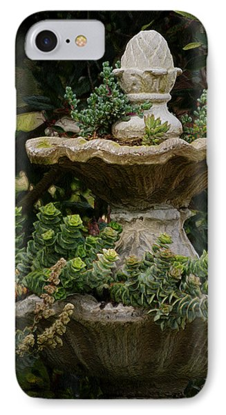 The Fountain Painterly Phone Case by Ernie Echols