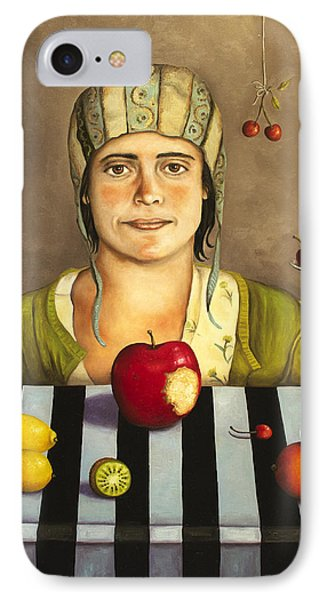 The Fruit Collector 2 Phone Case by Leah Saulnier The Painting Maniac