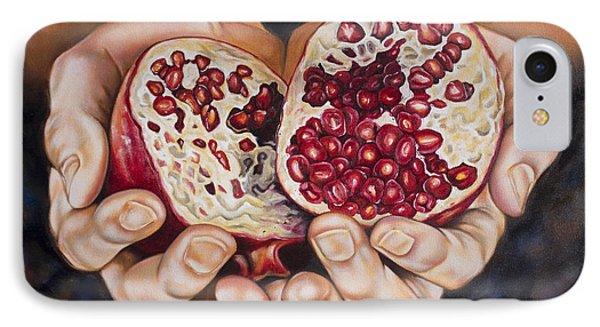 The Fruit Of Jesus' Sacrifice II Phone Case by Ilse Kleyn