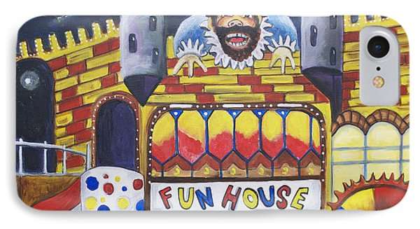 The Funhouse Castle Phone Case by Patricia Arroyo