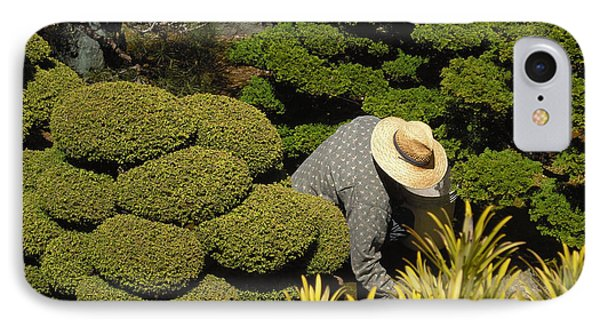 The Gardener Phone Case by Richard Reeve
