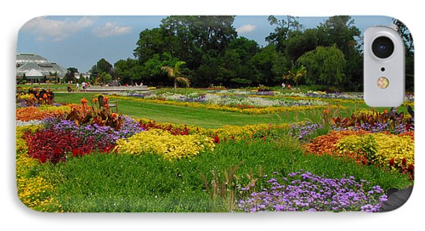IPhone Case featuring the photograph The Gardens Of The Conservatory by Lynn Bauer