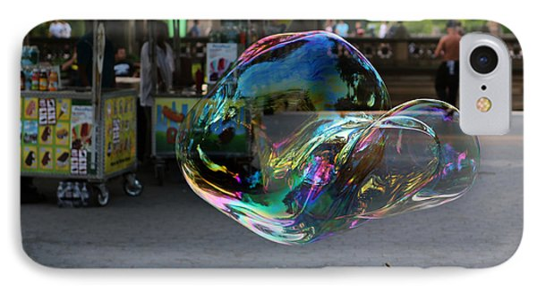The Giant Bubble At Bethesda Terrace Phone Case by Lee Dos Santos