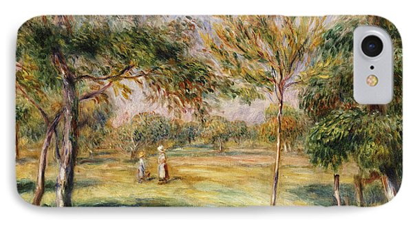 The Glade Phone Case by Pierre Auguste Renoir