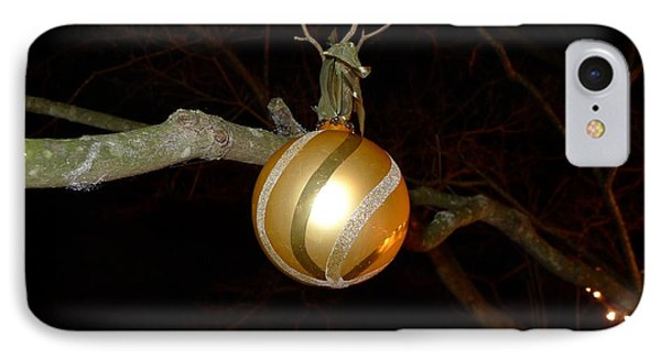 The Gold Bauble IPhone Case by Richard Reeve