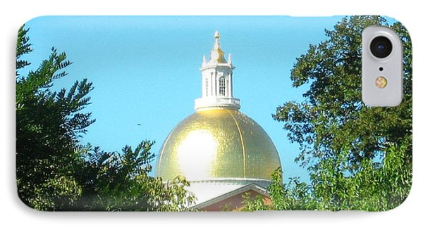 IPhone Case featuring the photograph The Gold Dome by Bruce Carpenter