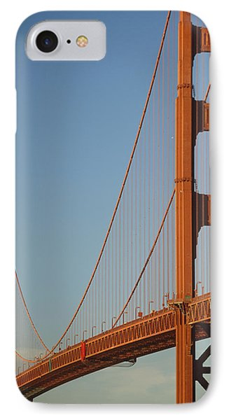 The Golden Gate Bridge At Dawn Phone Case by Axiom Photographic