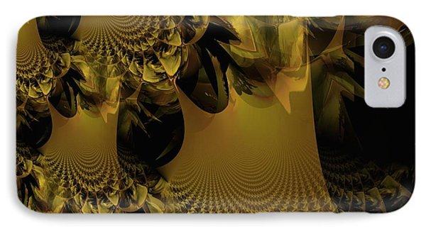 The Golden Mascarade Phone Case by Maria Urso