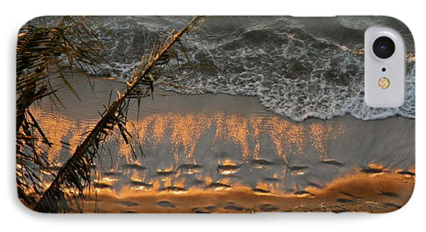 The Golden Moment IIi IPhone Case by Kirsten Giving