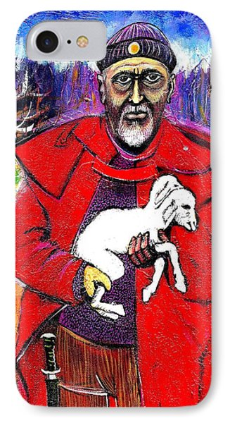 The Good Shepherd Phone Case by Ion vincent DAnu