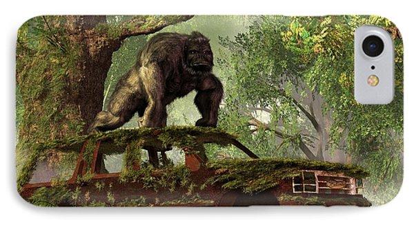 The Gorilla's Suv IPhone Case