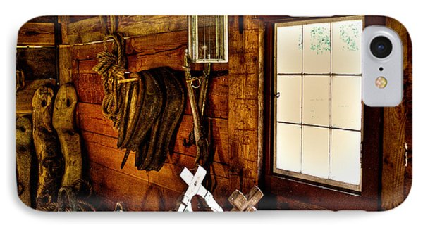 The Granary At Fort Nisqually Phone Case by David Patterson