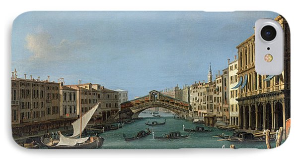 The Grand Canal Phone Case by Antonio Canaletto