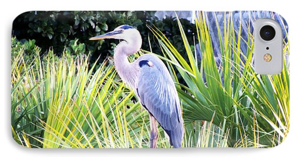 The Great Blue Heron Phone Case by Marilyn Holkham
