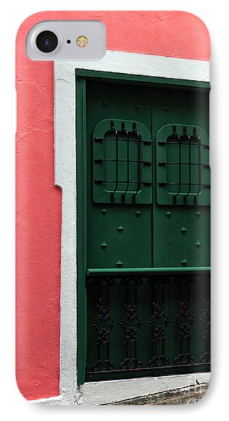 The Green Door Phone Case by John Rizzuto