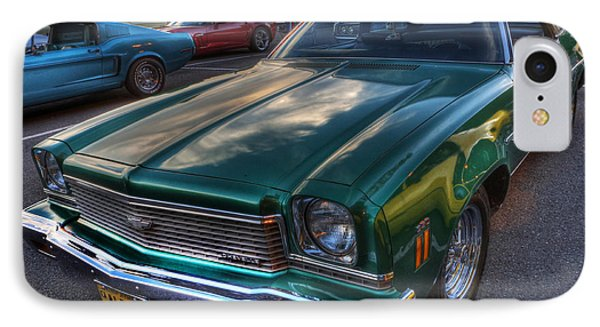 The Green Machine - Chevrolet Chevelle  Phone Case by Lee Dos Santos