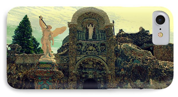 The Grotto In Iowa Phone Case by Susanne Van Hulst