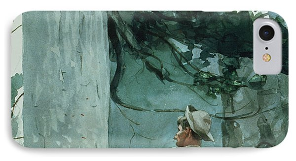 The Guide Phone Case by Winslow Homer