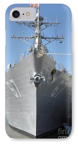 The Guided Missile Destroyer Uss Cole Phone Case by Stocktrek Images