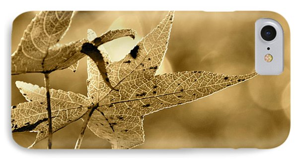 The Gum Leaf IPhone Case by JD Grimes