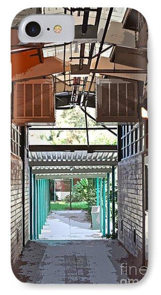 The Hallway Phone Case by Gwyn Newcombe