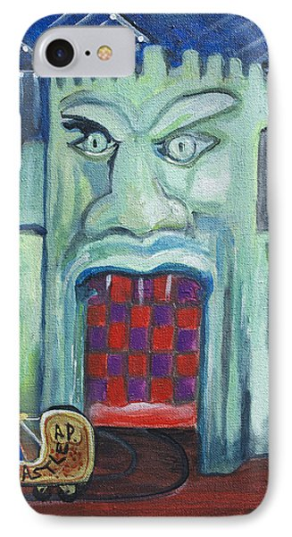 The Haunted Castle Phone Case by Patricia Arroyo