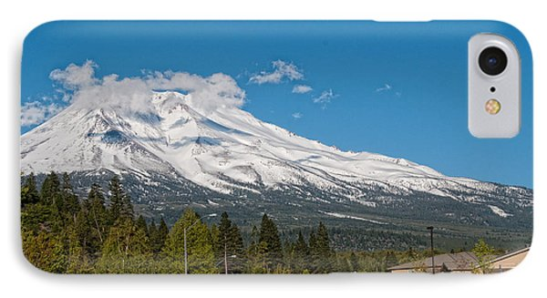 The Heart Of Mount Shasta IPhone Case by Carol Ailles