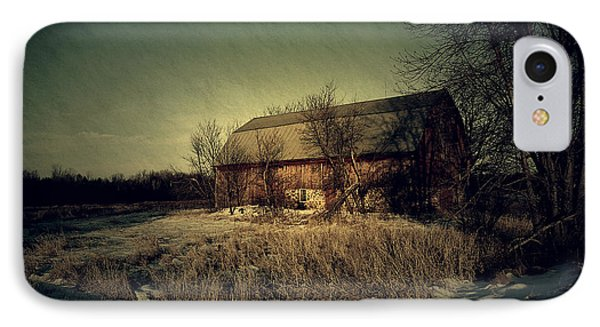 The Hiding Barn Phone Case by Joel Witmeyer