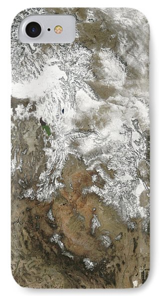 The High Peaks Of The Rocky Mountains Phone Case by Stocktrek Images