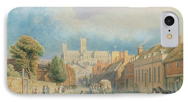 The High Street Lincoln  IPhone Case by Thomas Kearnan