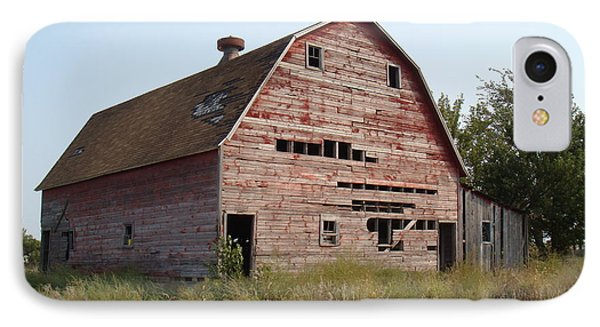 IPhone Case featuring the photograph The Hole Barn by Bonfire Photography