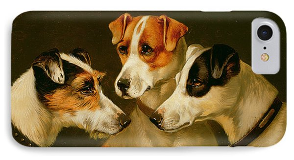 The Hounds IPhone 7 Case by Alfred Wheeler