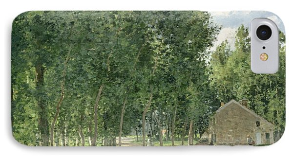 The House In The Forest Phone Case by Camille Pissarro