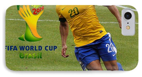 The Hulk Kicking Fifa 2014 IPhone Case by Lee Dos Santos