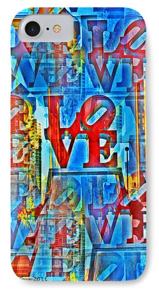 The Illusion Of Love Phone Case by Bill Cannon