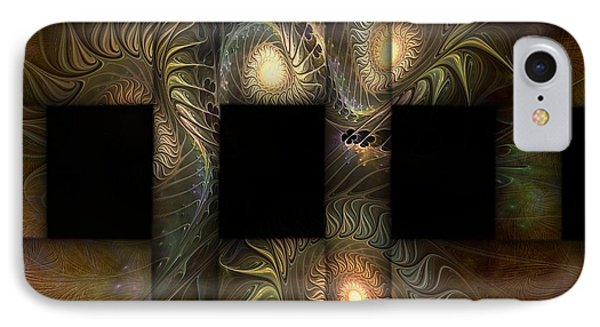 IPhone Case featuring the digital art The Indomitability Of The Idea by Casey Kotas