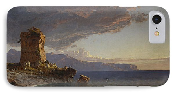 The Isle Of Capri Phone Case by Jasper Francis Cropsey
