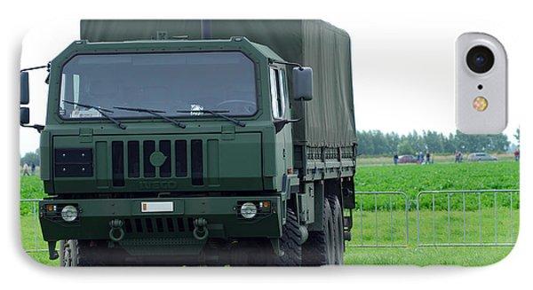 The Iveco M250 8 Ton Truck Phone Case by Luc De Jaeger